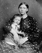 Elizabeth Clemens Balthasar (1836-1871) and daughter Anna